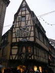 Colmar, maison à colombages.