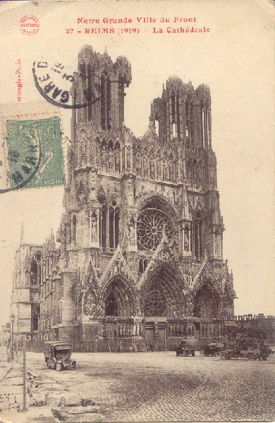 Reims, la cathédrale